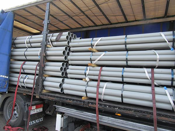 concrete pump pipe-line
